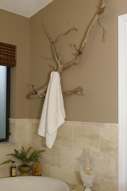 Driftwood type Towel Bar