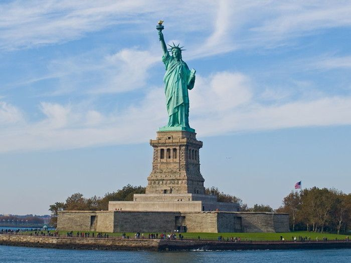 Liberty State Park offers spectacular Statue of Liberty and Lower Manhattan views. While you're there, hop a ferry to the Statue and/or Ellis Island.