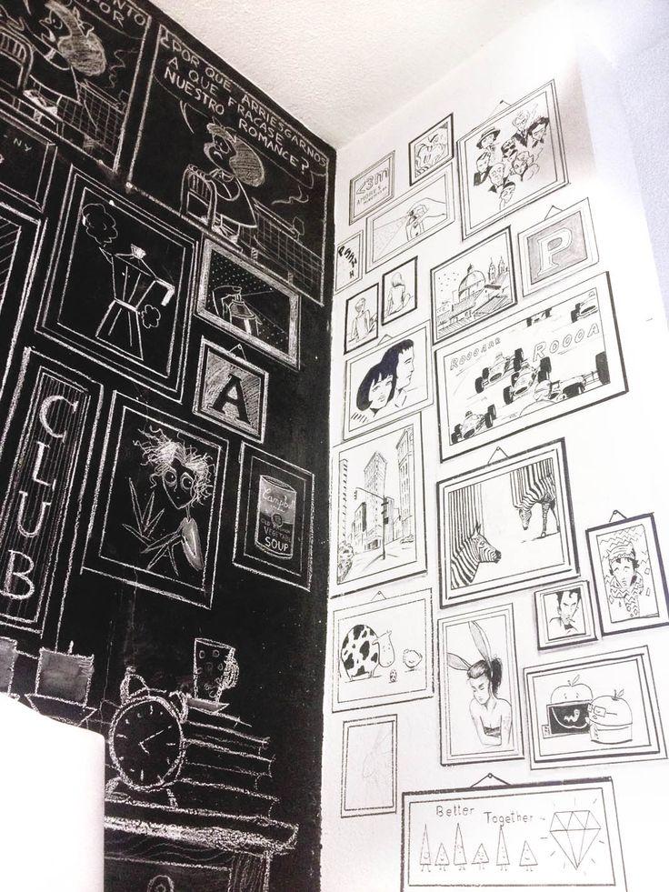pizara, pizarra decoracion, ideas pizarra, ideas decoracion pizarra, ideas mural