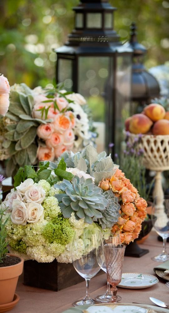 767 best Beautiful table settings & Centerpieces images on ...