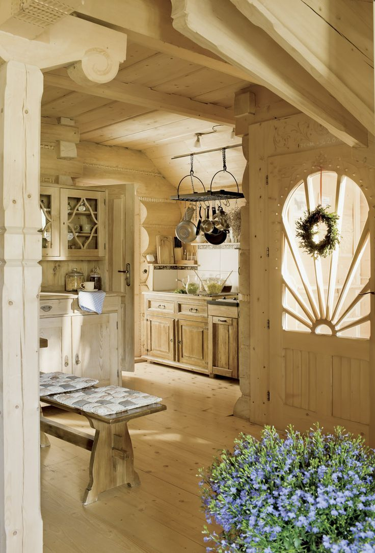I love how light and bright this is! Sometimes the 'all wood' designs are too dark.