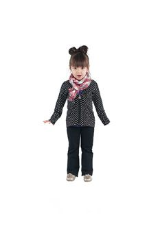 Peekaboo Beans - Cross My Heart Cardigan Playwear for kids on the grow!