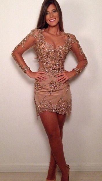 Nude lace dress . I love it!