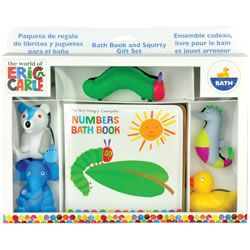 Eric Carle Caterpillar Bath Book and Squirty Gift Set