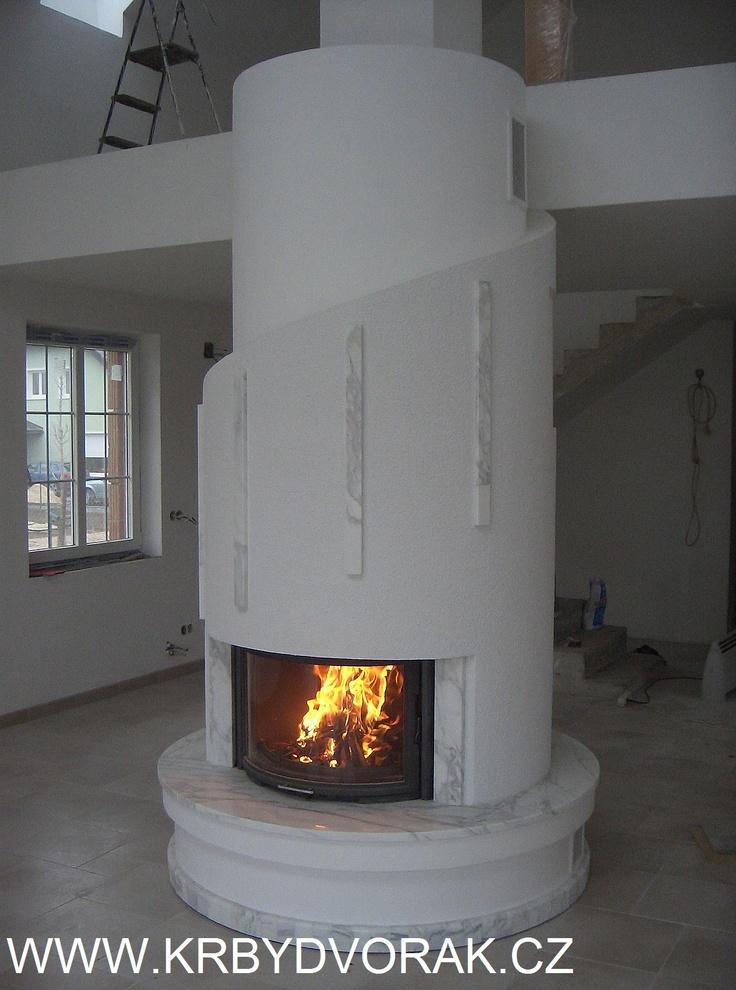 Krby Dvorak fireplaces