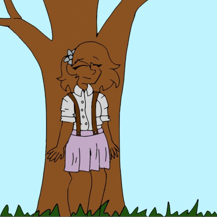 Ok, I tried to pin it from the original file, is it gonna work? Oooh, it is! So, this is my Miss peregrines oc Jackie camouflaging as a tree. By Tessa Strider.