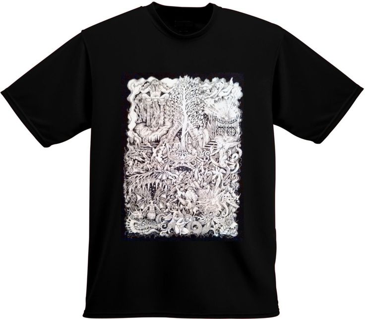 The Space Inbetween T-Shirt (Black) – Old Ones Productions