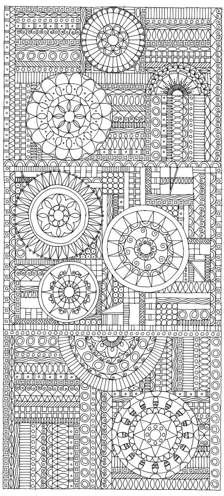 Lotus designs coloring book - Miriam Badyrka Is The Doodler Animals People