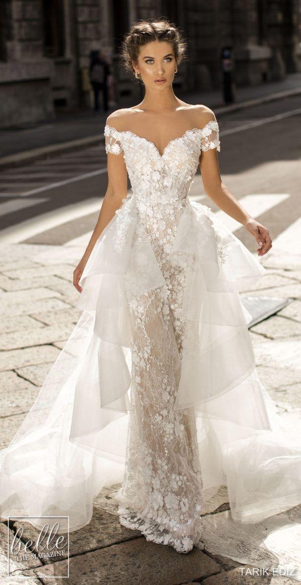 Tarik Ediz Wedding Dresses 2019 Belle The Magazine Wedding Dresses Lace Wedding Dresses Bridal Dresses