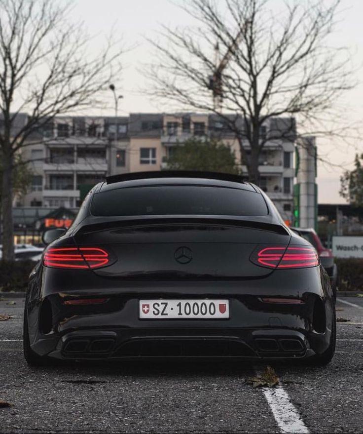 Matte Black Luxury Car Wallpaper Mercedes Benz C 63 S Amg Coup 233 Luxury Cars Mercedes