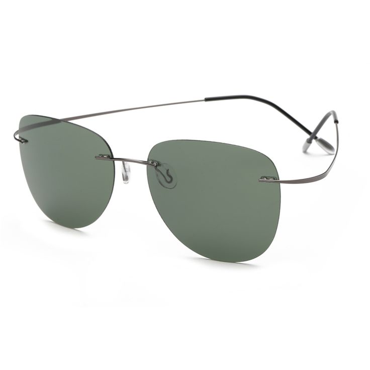 With case Polarized Titanium Silhouette sunglasses Polaroid Brand Designer Rimless Gafas Men Sun glasses sunglasses for men man of ** AliExpress Affiliate's buyable pin. Find out more on www.aliexpress.com by clicking the VISIT button