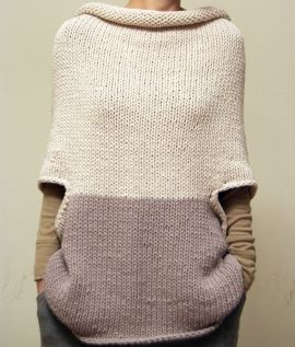 MODEL: MEIO Hand Made Elementum $315 MATERIAL: 50% Baby Alpaca 50% Fine Merino Wool Hand knitted in Europe.