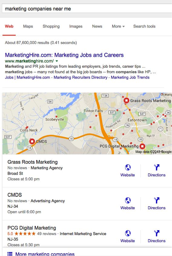 SEO News: Google Narrows Local Search Results from 7 to 3 - @b2community