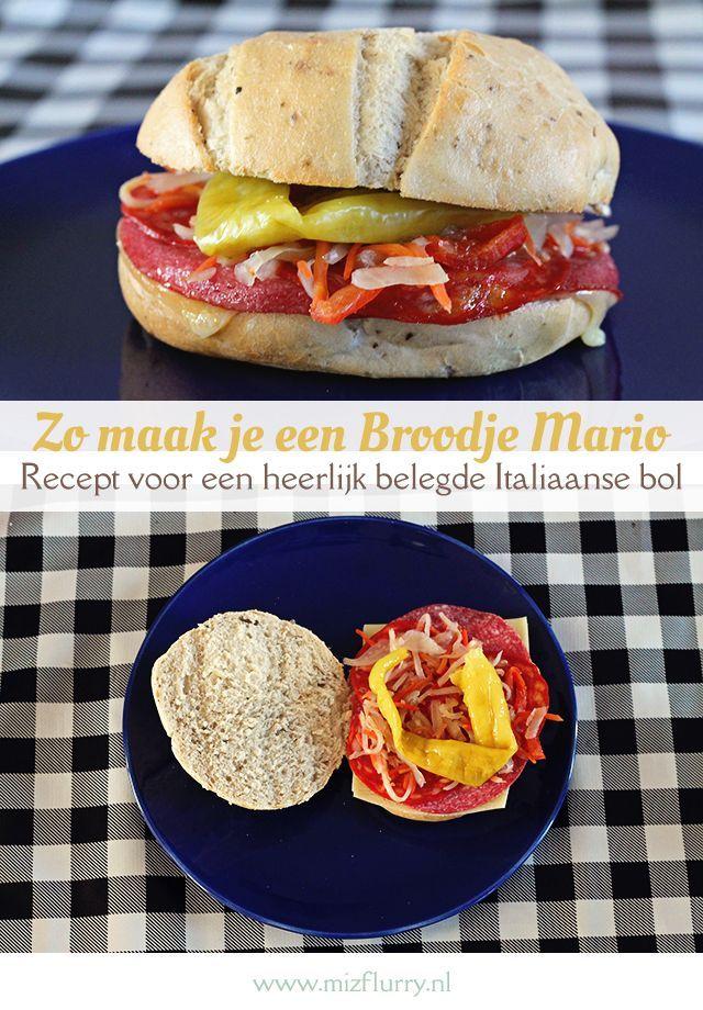 Zeer Recept broodje Mario | Recept | Groepsbord Recepten in het &IS16