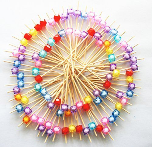 "#ReaLegend 4.7"" #Cocktail #Sticks #Party #Frilled #Toothpicks, #Sandwich, #Appetizer, #Cocktail #Picks #Party #Supplies #Plates #Picks #100 #Count #100 #Count #Cocktail #Sticks #Cocktail #Picks.#Picks with Nice Frills.Dimension: Length 3.6Inch(9cm) Coordinating Christmas and seasonal designed dinner and dessert #plates; napkins; drink cups; cutlery; tablecloths; centerpieces and other decor #Cocktail #Picks #Cocktail #Sticks Decorative Stylish Design Multiple Color and Multip"