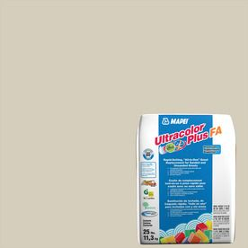 Mapei Ultracolor Plus Fa 25-Lb Biscuit Sanded/Unsanded Powder Grout 6B