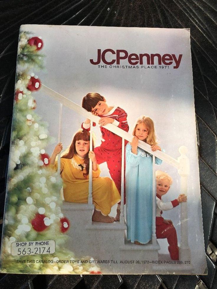 Vintage 1971 Jc Penney Christmas Catalog Retro Toys Barbie