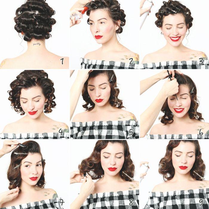 Comment Faire Une Coiffure Facile Cheveux Mi Longs Archzine Fr Coiffure Facile Cheveux Mi Long Coiffure Carre Mi Long