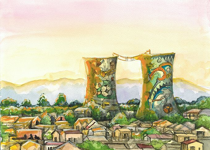 """""""Salome and Gogo visit Soweto"""" written by Cora Groenewald and illustrated by Julie Sneeden"""