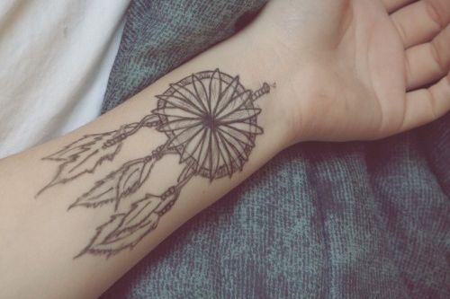 Fashion em Cores: Inspire-se: Tatuagem boho, indie e hippie