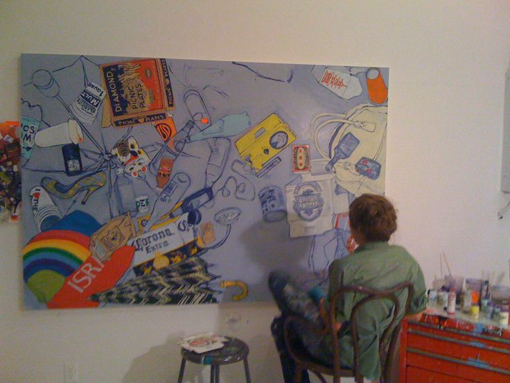 Hope Gangloff in her Greenpoint studio