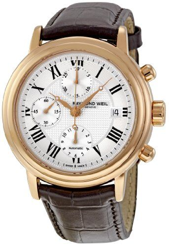 >> Click on pictures to go to Coupon codes 2013 Raymond Weil Men's Maestro Chronograph Watch