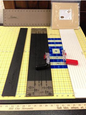 Martelli - mats, rulers and fussy cut templates