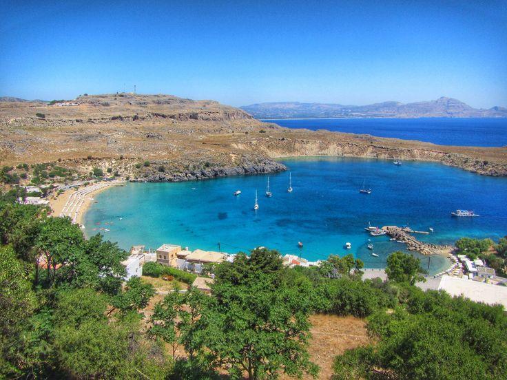 Lindos, Greece www.thegirlswhowander.com
