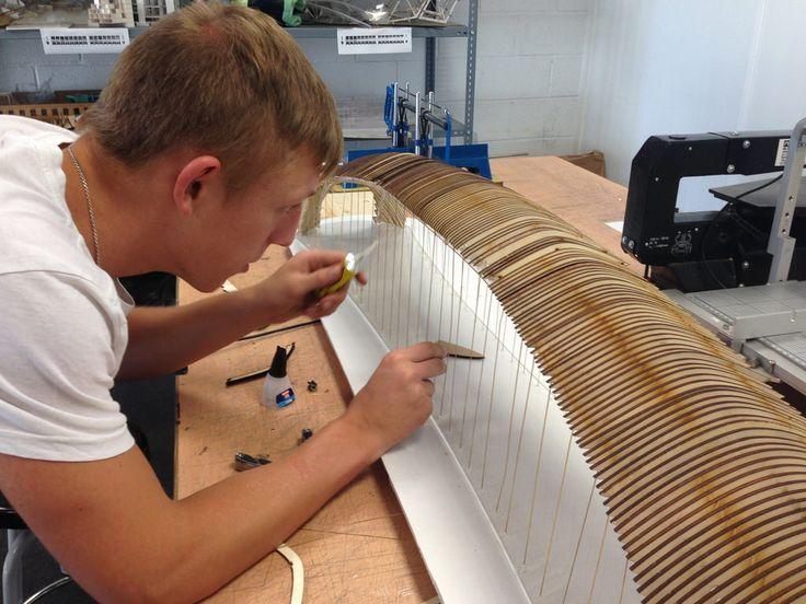 Trabajo en aula de maquetas Taller en Diseño II | by Universidad CEU San Pablo