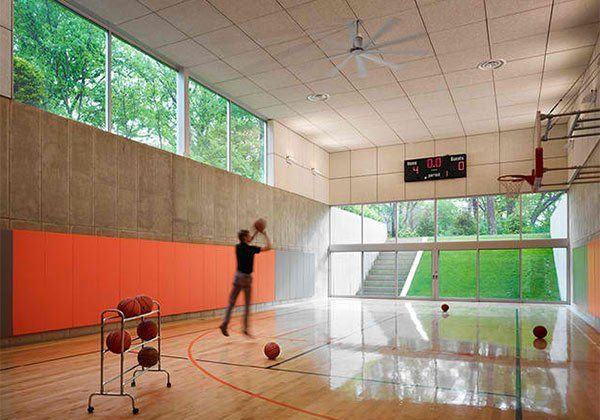 65 best sports court images on pinterest indoor for Design your own basketball court