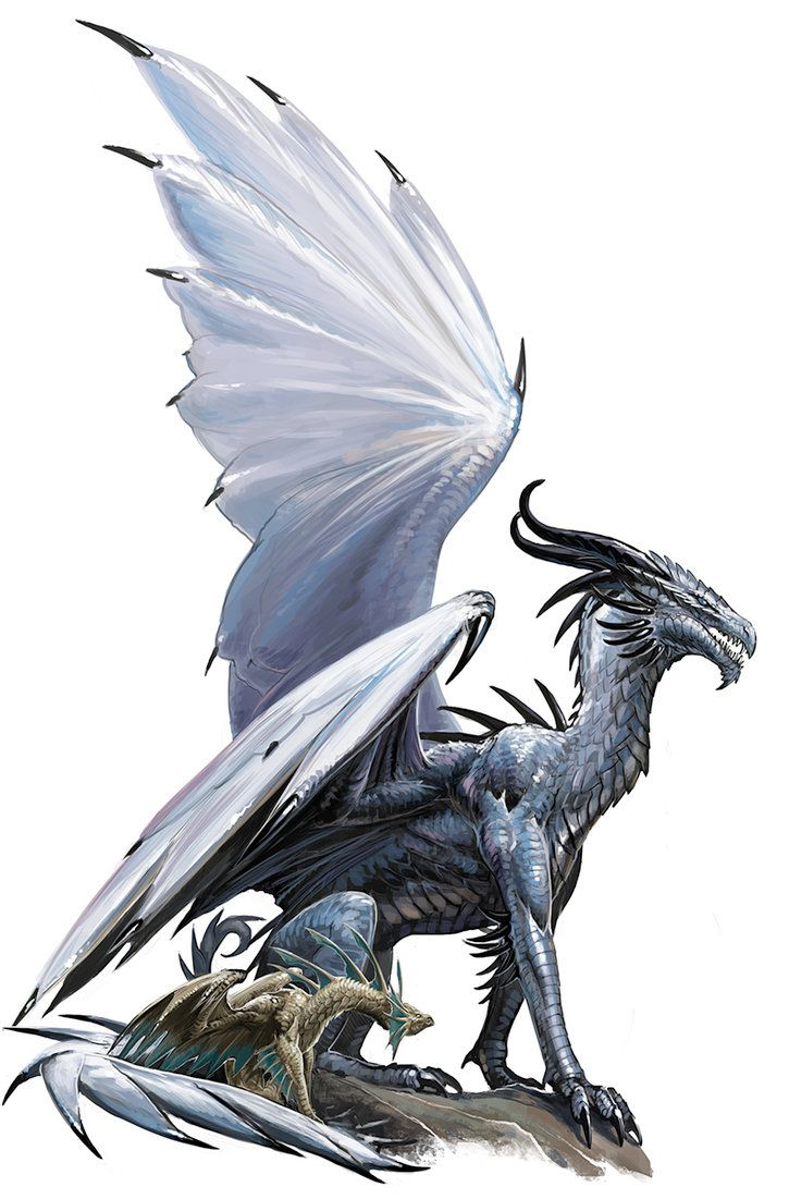 Ancient Silver Dragon by BenWootten on DeviantArt