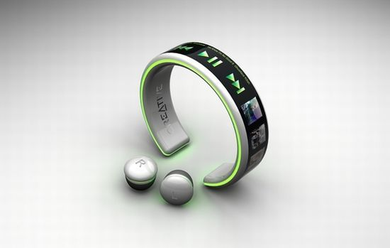 Latest wrist mp3 player, it charges with your pulse