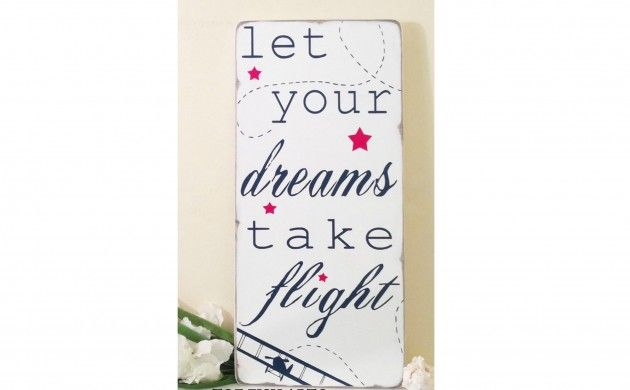 BabyZone: 13 Ideas for a Vintage Airplane Nursery  | Inspirational Quote Decor