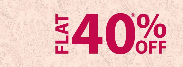 #W brings you the most #exciting #sale of all time. Flat 40% Off : www.shopforw.com