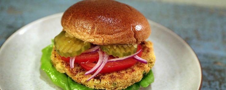 Chickpea Burgers Recipe | The Chew - ABC.com
