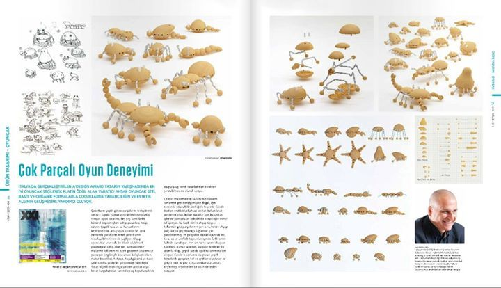 """Creative Wooden Creatures"", XXI Mimarlık / Dr.Hakan Gürsu - Designnobis."