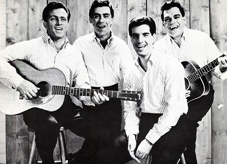 Legends: The Four Seasons from left Tommy De Vito, Frankie Valli, Bob Gaudio and Nick Massi