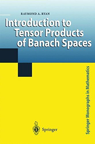 Introduction to Tensor Products of Banach Spaces free ebook