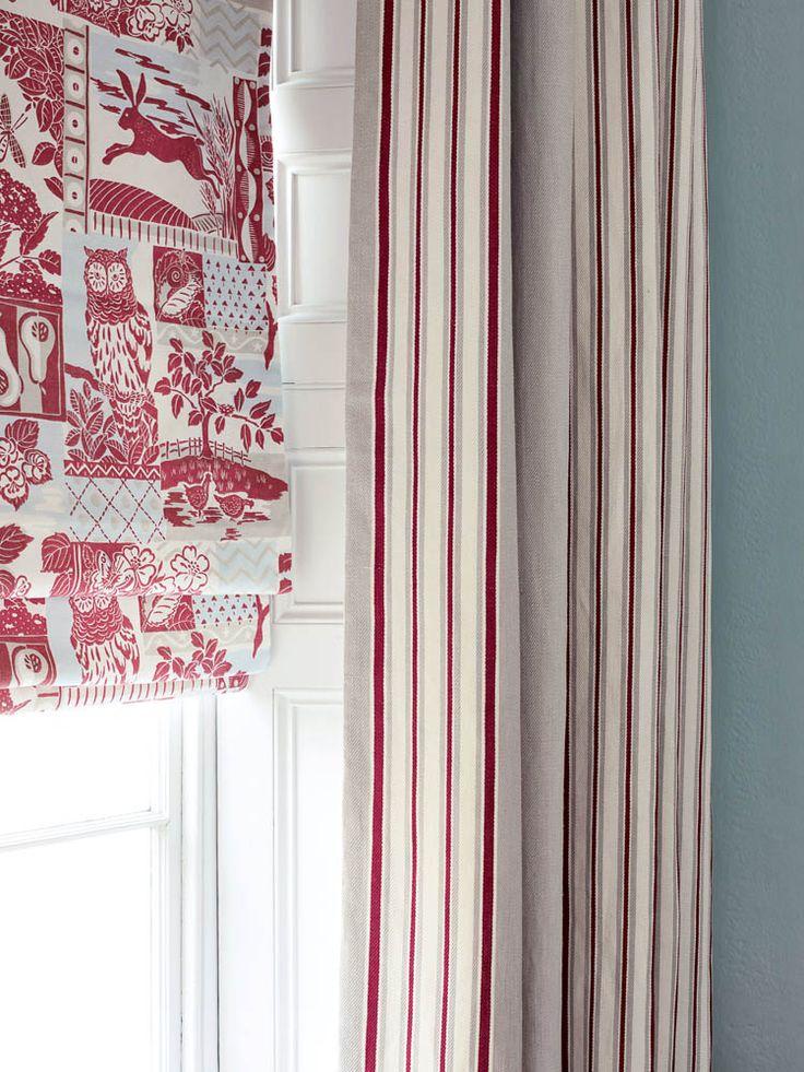 Jane Churchill fabrics for Cowtan & Tout