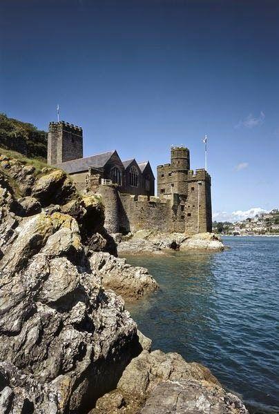 Dartmouth Castle, Devon, UK @ajdoccarlson