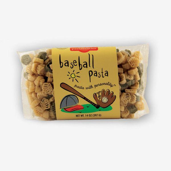 baseball těstoviny