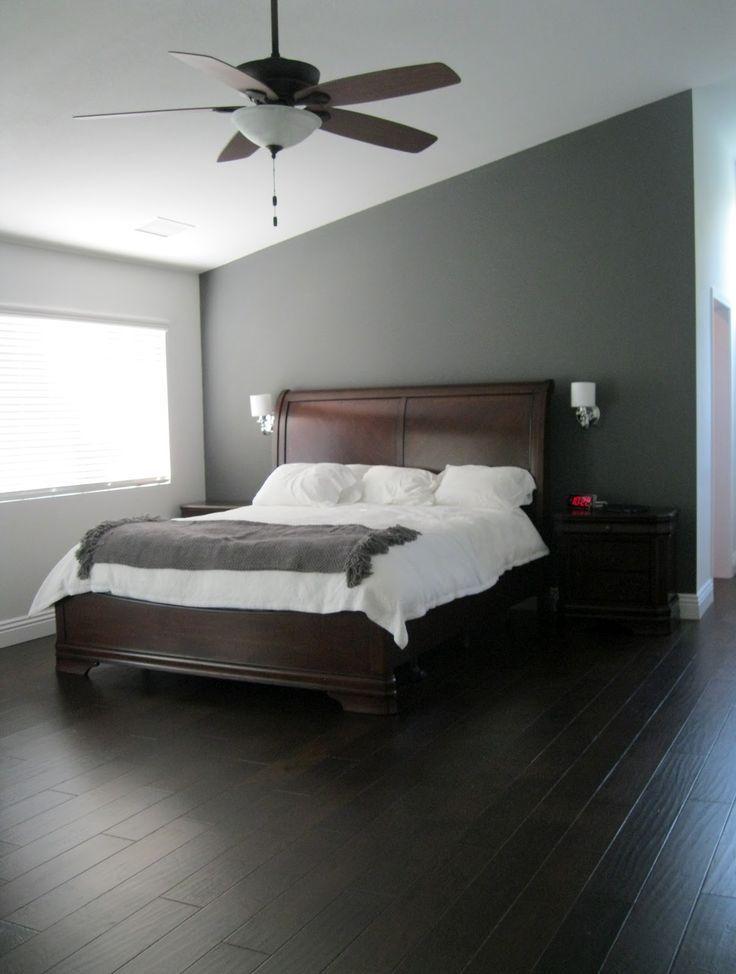 Image Result For Wooden Bed In Grey Room Grey Bedroom Design Dark Wood Bedroom Furniture Bedroom Color Schemes