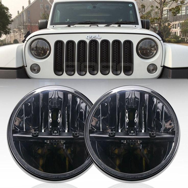 """55.00$  Watch now - https://alitems.com/g/1e8d114494b01f4c715516525dc3e8/?i=5&ulp=https%3A%2F%2Fwww.aliexpress.com%2Fitem%2F2x-7-INCH-BI-LED-Headlights-For-Truck-HeadLamps-6000K-Conversion%2F32775497757.html - """"2x 7"""""""" INCH BI-LED Headlights For Truck HeadLamps 6000K Conversion"""""""