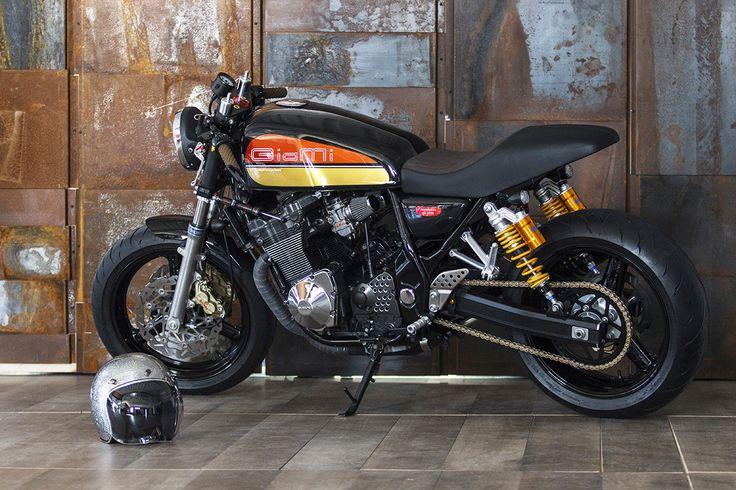 Cosimo Comeback - Suzuki Inazuma cafe racer via returnofthecaferacers.com