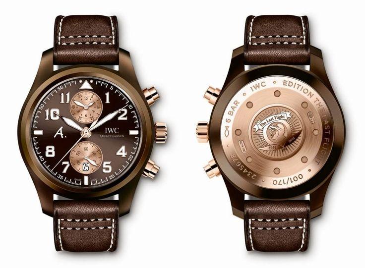 IWC Pilot – The Last Flight | Luxurio.cz  #watches #luxury #luxusní #hodinky #luxurio