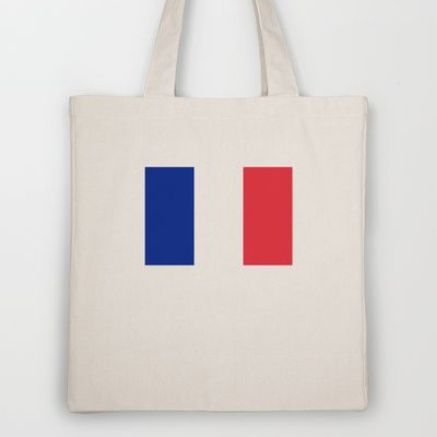 The National Flag of France - Authentic Version Tote Bag by LonestarDesigns2020 - Flags Designs + - $18.00