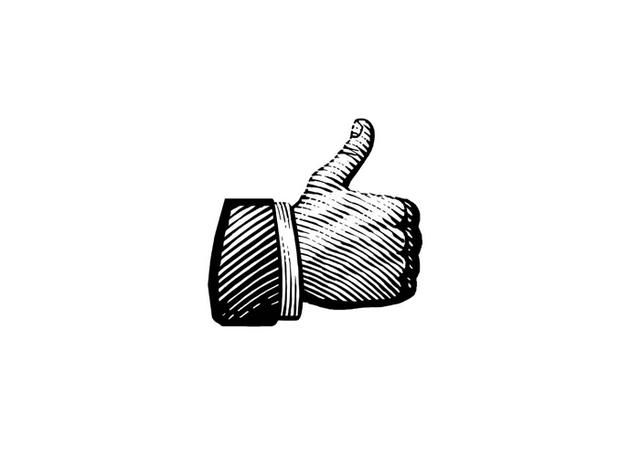 Steven Noble Illustrations: Thumbs-up Icon