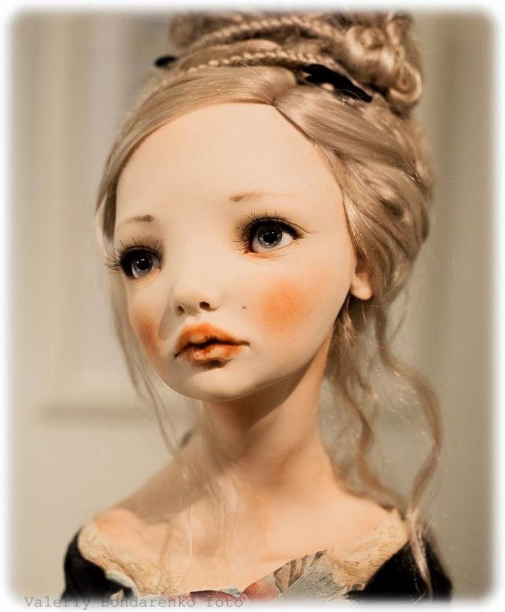 Art doll by Alisa Filippova ARTIST DOLL / UNIQUE DOLLS / ARTISTIC CREATIONS / OOAK DOLLS ♀️♀️♀️More Pins Like This At FOSTERGINGER @ Pinterest 