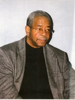 """Muhammad Ahmad (Maxwell Stanford).  Courtesy of blackpast.org: """"Maxwell Curtis Stanford, Jr., known since 1970 as Muhammad Ahmad, is a civil rights activist and was a founder of the Revolutionary Action Movement (RAM), a black power organization active during the 1960s. . . . RAM was a black nationalist student group with a philosophy inspired by the self-defense doctrines of former National Association for the Advancement of Colored People (NAACP) leader Robert F. Williams."""""""