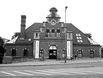 Berlin 1996 S-Bahnhof Berlin-Westend (Altbau)